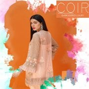 COIR UNSTITCHED EMBROIDERED LUXURY