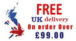 Free UK Delivery on all orders over £99