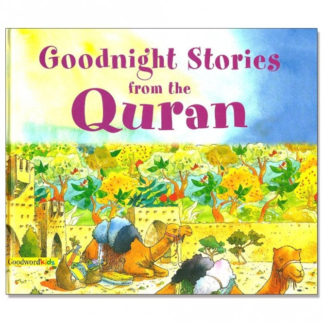 Kids Story Book MLB12 Goodnight Stories from the Qur'an-Language: English