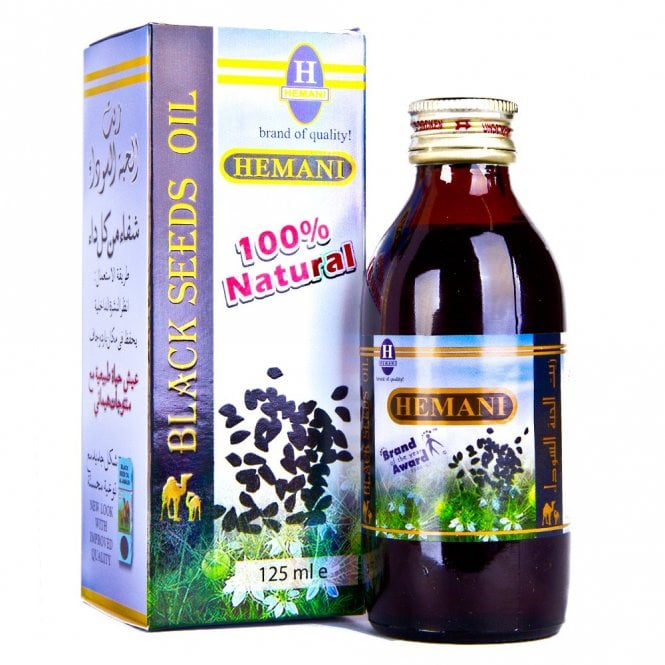 Health:: MLP 059 HEMANI BLACK SEED OIL 125ML