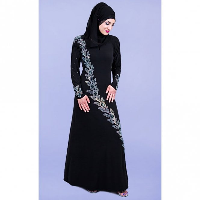 Umbrella Cut Abaya H 3184
