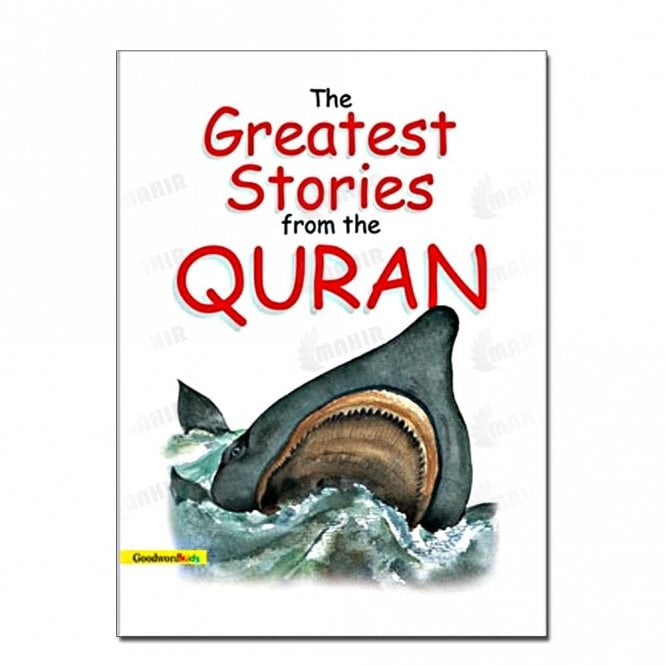 Kids Story Book The Greatest Stories from the Quran (Hard Cover)[MLB 826]