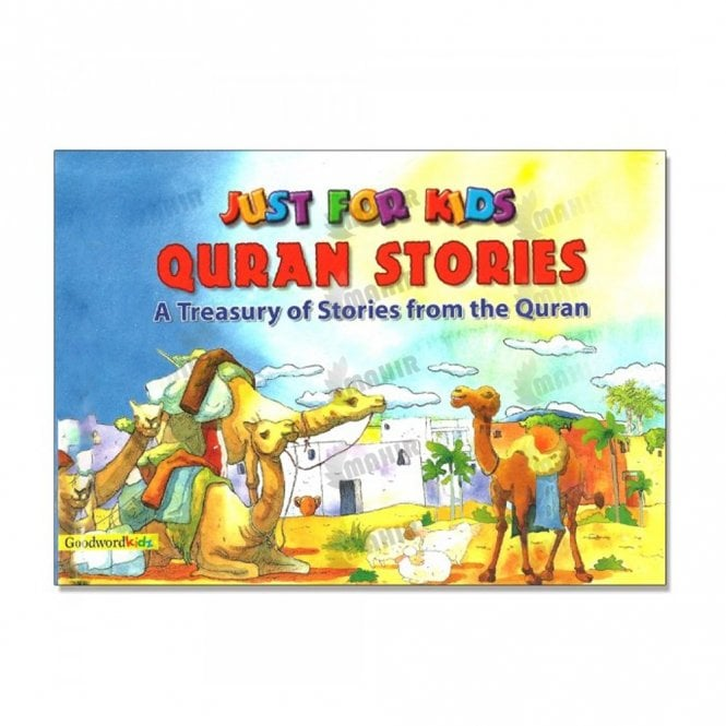 Kid's story book: Just for Kids Quran Stories[MLB 814]