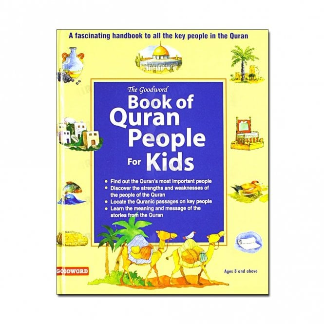 Kid's story book: Goodword Book of Quran People for Kids[MLB 8174]