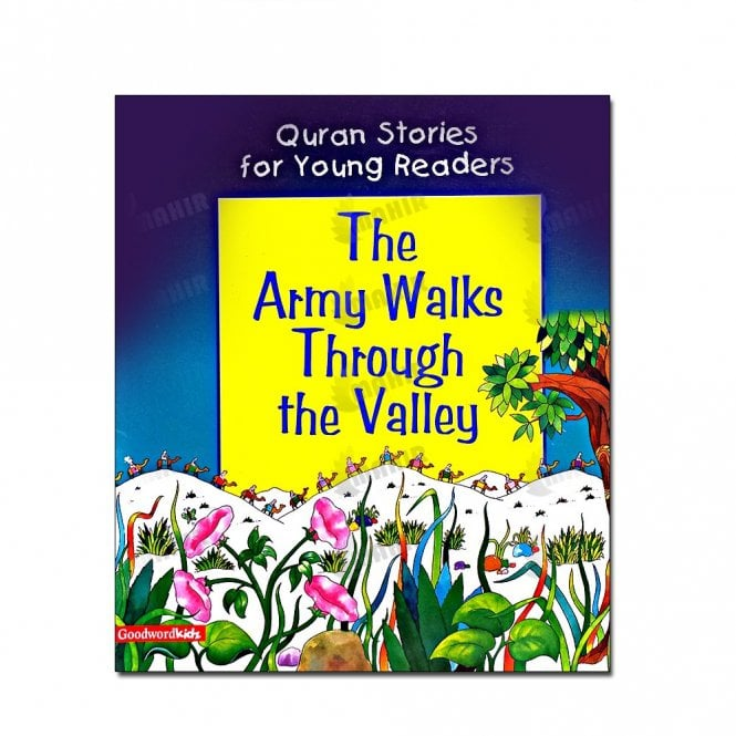 Kid's story book: The Army Walks Through the Valley (Paperback)[MLB 8144]