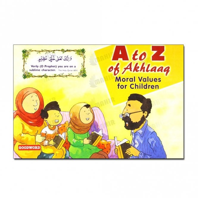 Kid's story book: A to Z of Akhlaaq Moral Values for Children[MLB 885]