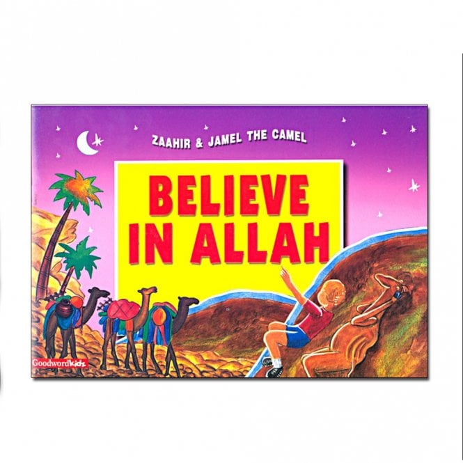 Kid's story book: Believe in Allah (Paperback)[MLB 8134]