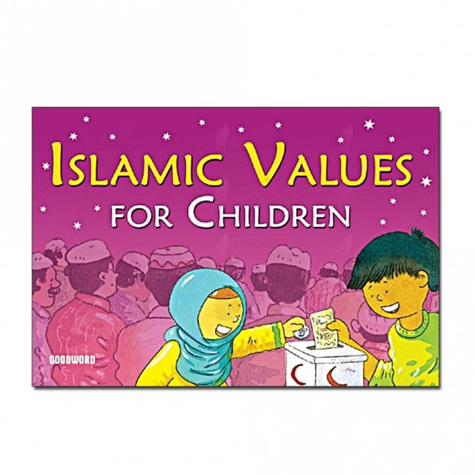 Kid's story book: Islamic Values for Children[MLB 862]