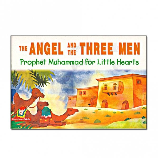 Kid's story book: The Angel and the Three Men[MLB 855]