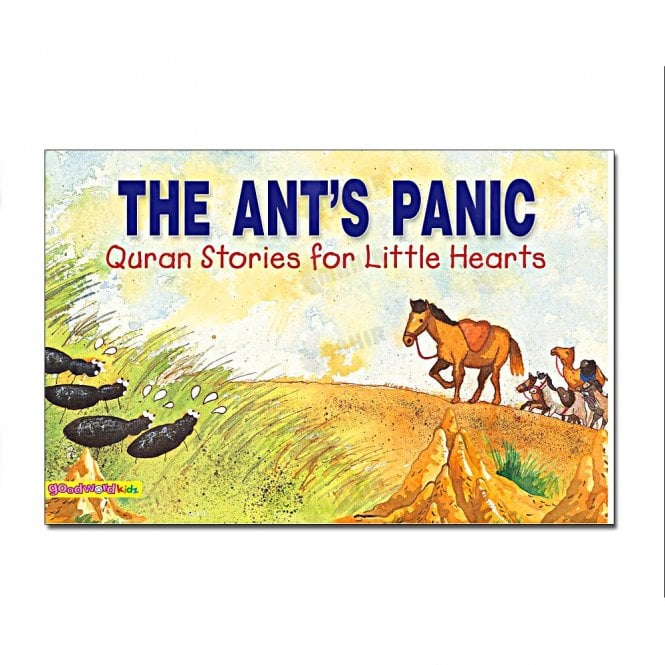 Kid's story book: The Ant's Panic[MLB 887]