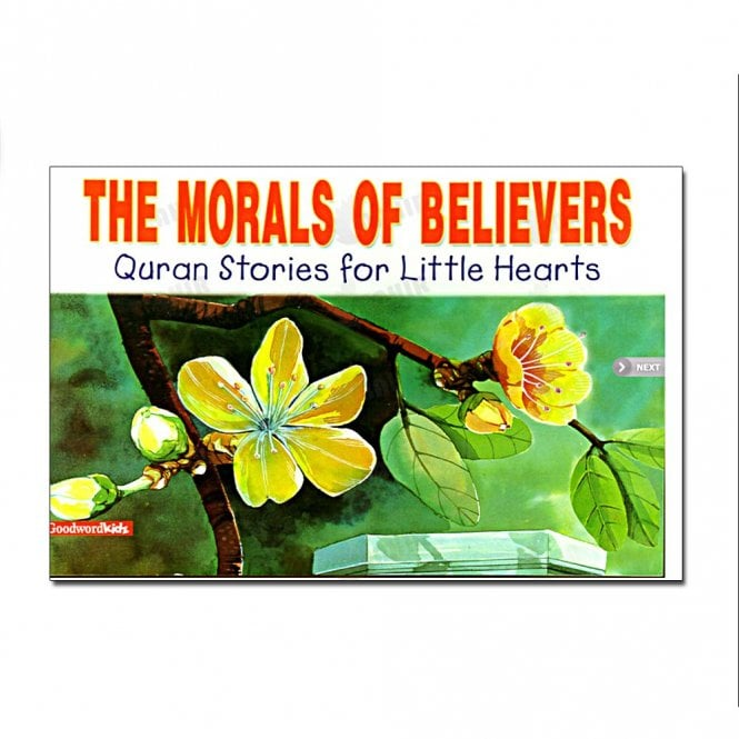 Kids Story Book The Morals of Believers[MLB 871]