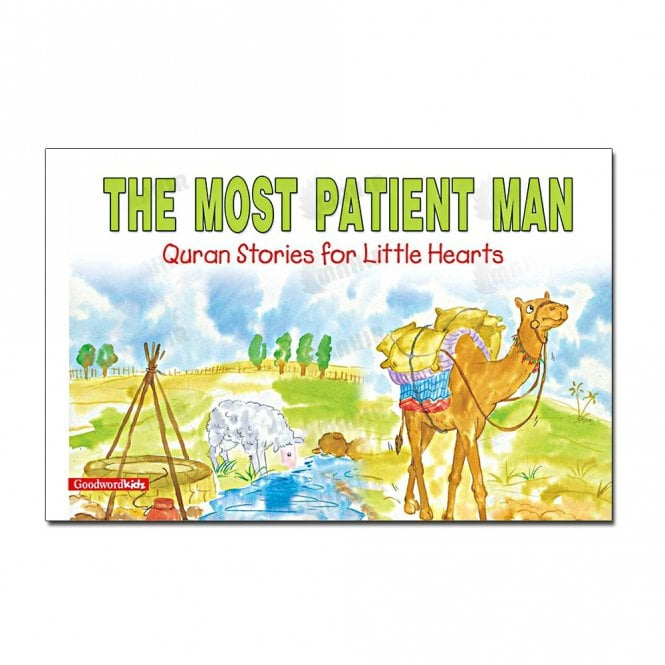 Kids Story Book The Most Patient Man[MLB 870]