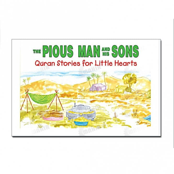 Kids Story Book The Pious Man and His Sons[MLB 863]