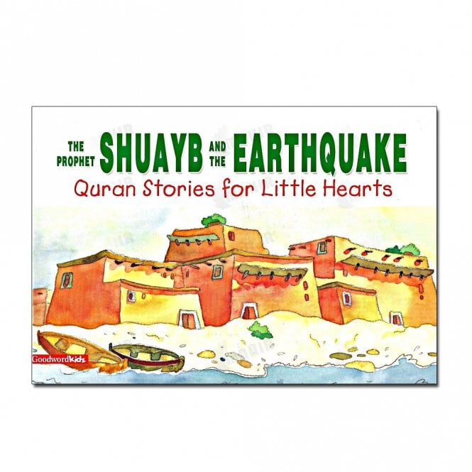 Kids Story Book The Prophet Shuayb and the Earthquake[MLB 849]