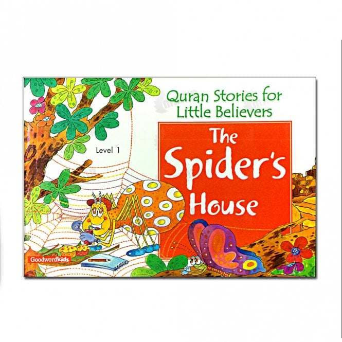 Kids Story Book The Spider's House[MLB 868]