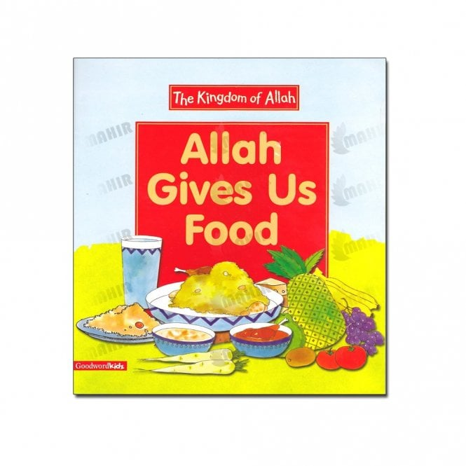 Kids Story Book Allah Gives Us Food (Paperback)[mlb 8149]