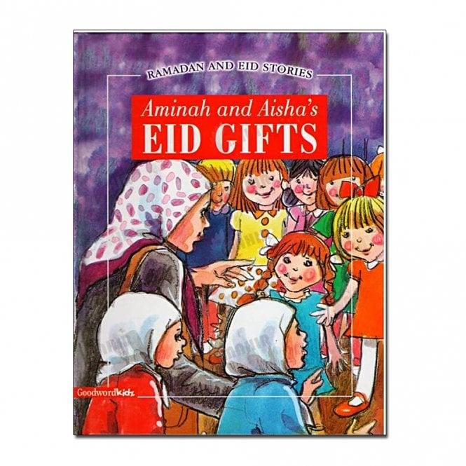 Kids Story Book Aminah and Aisha's Eid Gifts (Paperback)[MLB  8150]