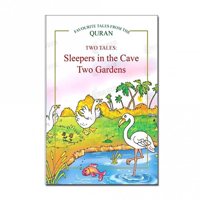 Kids Story Book Sleepers in the Cave, Two Gardens (Two Tales)[MLB 8114]