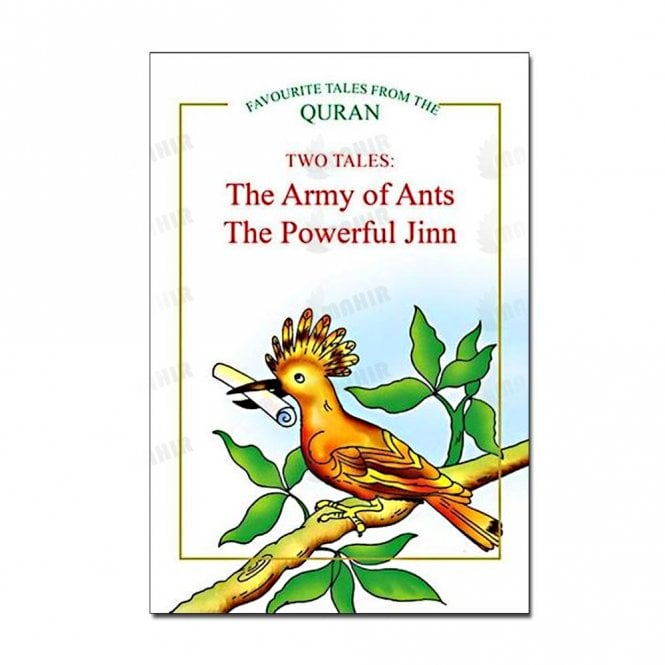 Kids Story Book The Army of Ants, The Powerful Jinn (Two Tales)[MLB 8117]