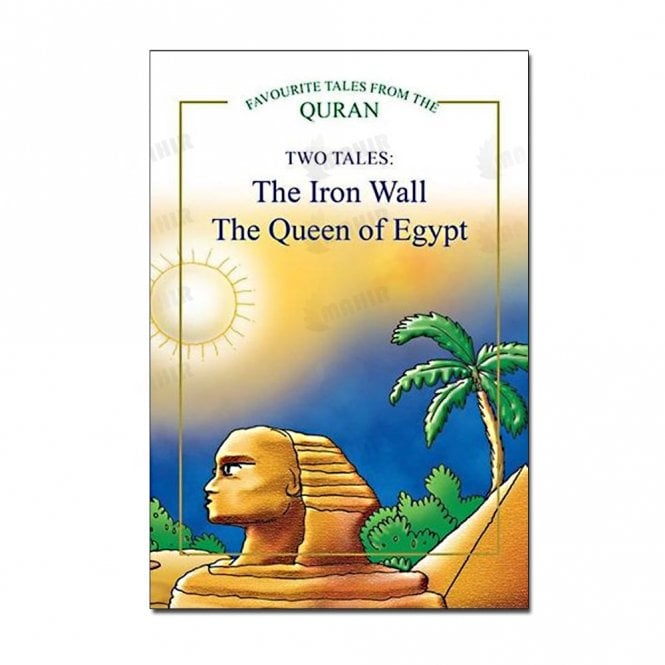 Kids Story Book The Iron Wall, The Queen of Egypt (Two Tales)[MLB 8118]