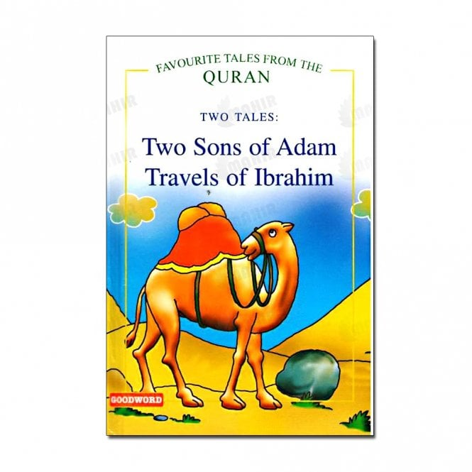 Kids Story Book Two Sons of Adam, Travels of Ibrahim (Two Tales)[MLB 8119]