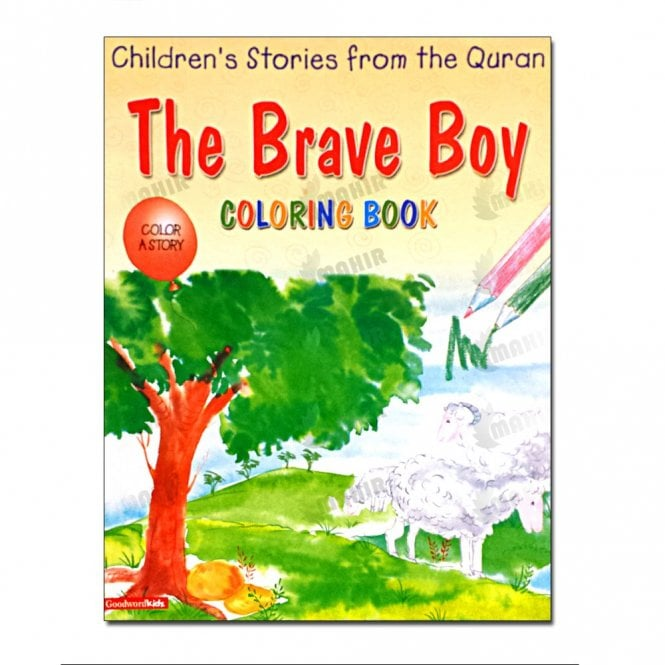 Kids Story Book The Brave Boy (Colouring Book)[MLB 8131]