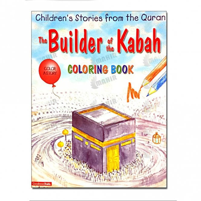Kids Story Book The Builder of the Kabah (Colouring Book)[MLB 8130]