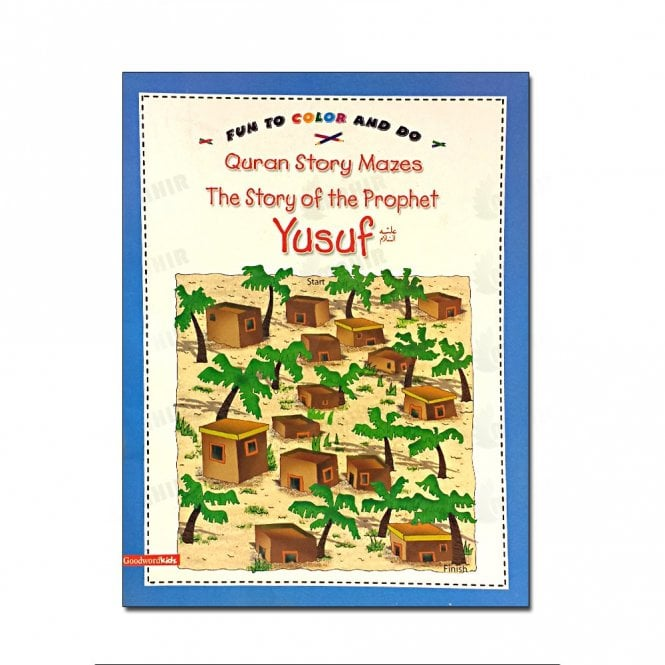 Kids Story Book The Story of Prophet Yusuf(Colouring Book)[MLB 8157]