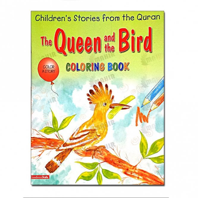 Kids Story Book The Queen and the Bird (Colouring Book)[MLB 8136]