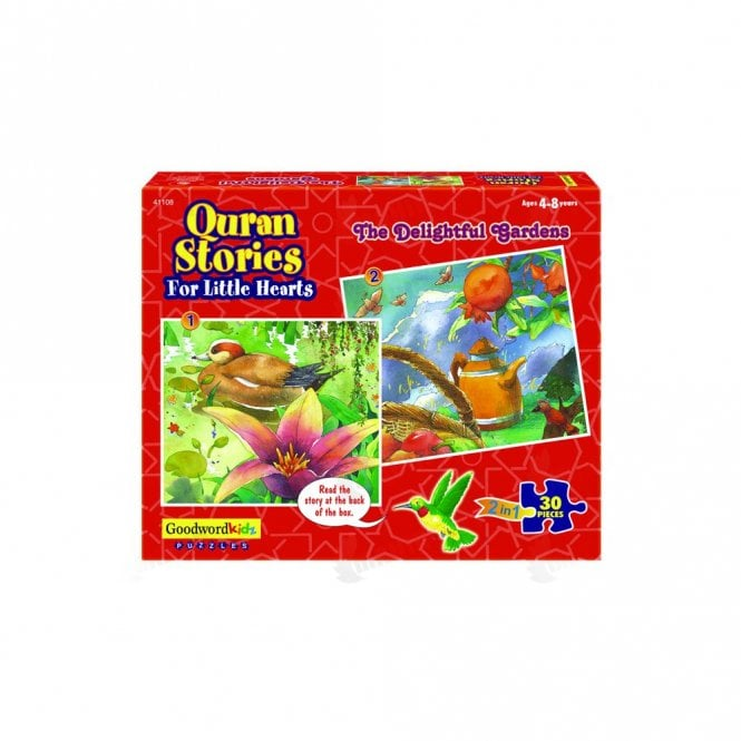 Kids Story Book The Delightful Gardens (Box of six puzzles)[MLB 8183]