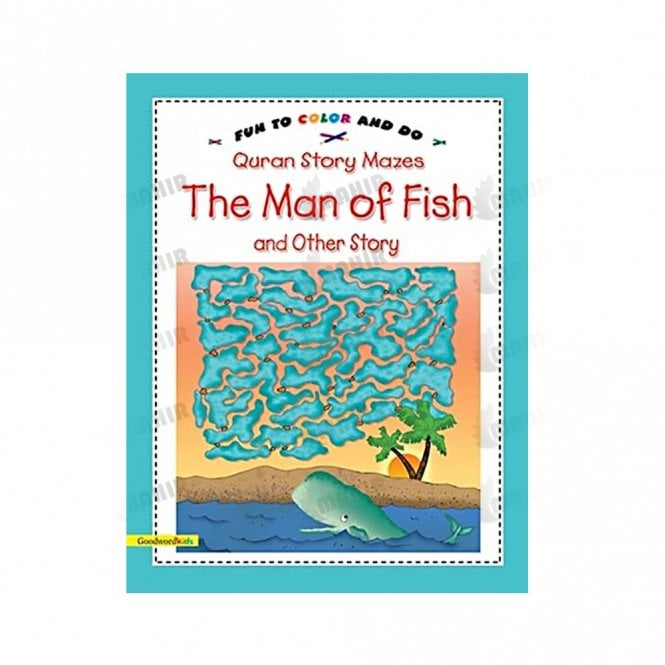 Kids Story Book The Man of Fish and Other Story(Mazes)[MLB 8156]