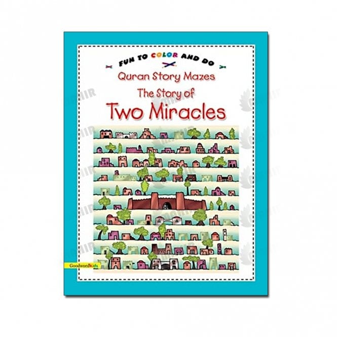 Kids Story Book The Story of Two Miracles(Mazes)[MLB 8151]