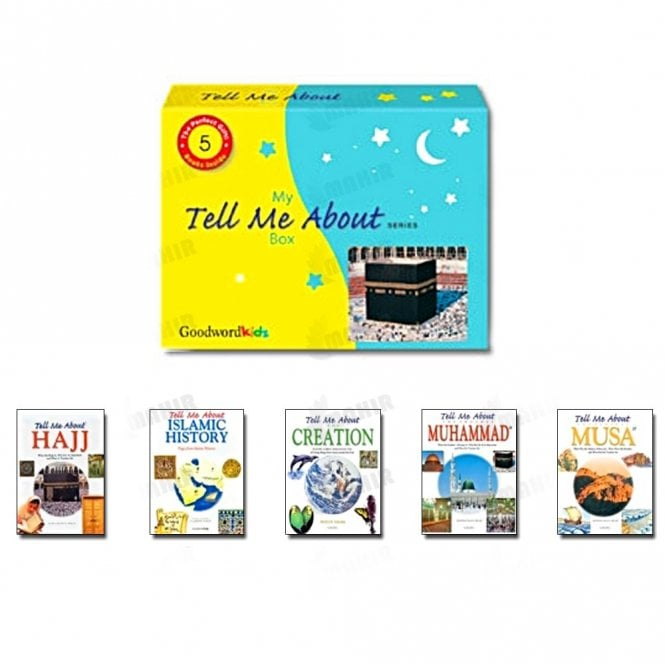 "Kids Story Book My ""Tell Me About"" Box (Five Hardbound Books)[MLB 8107]"