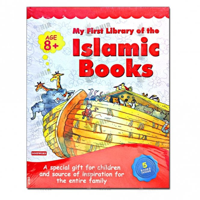 Kids Story Book My First Library of Islamic Books  Collection of 5 Books in Single Package[MLB 8111]