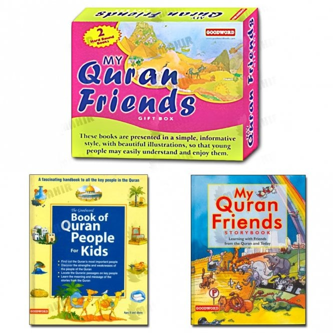 Kids Story Book My Quran Friends Gift Box (Two Books)[MLB 895]