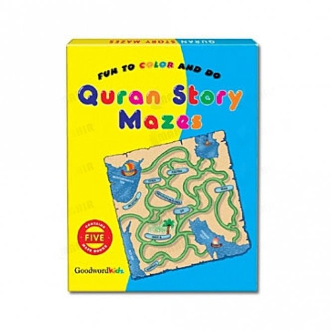 Kids Story Book My Quran Stories Mazes Gift Box-1 (Five Maze Books)[MLB 8163]