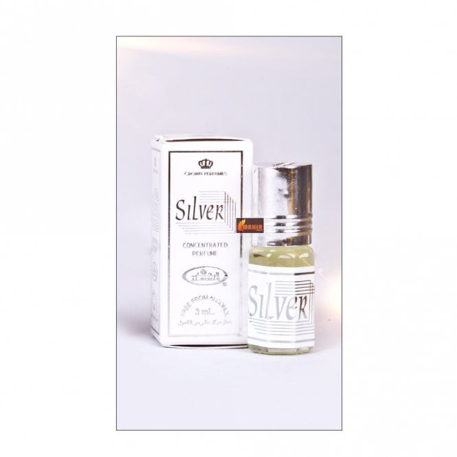 Attar: ML 011324 Silver 3ml by AL Rehab