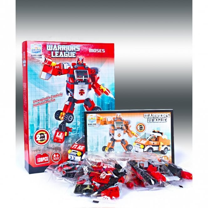 Kids Fun:: K23 MOSES From Warriors League Series Building Block Toys
