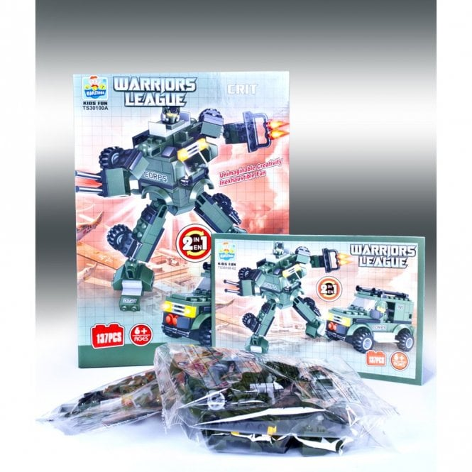 Kids Fun:: K23 CRIT From Warriors League Series Building Block Toys