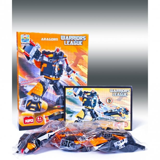 Kids Fun:: K23 ARAGORN From Warriors League Series Building Block Toys