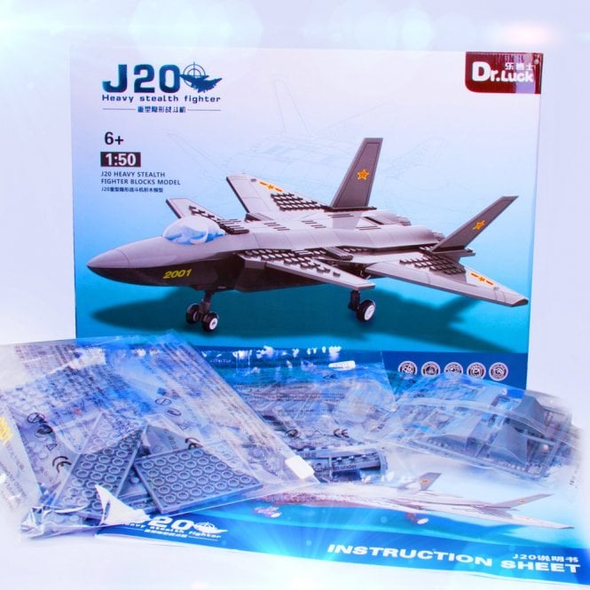 Kids Fun:: K25 Stealth Fighter Block Toys