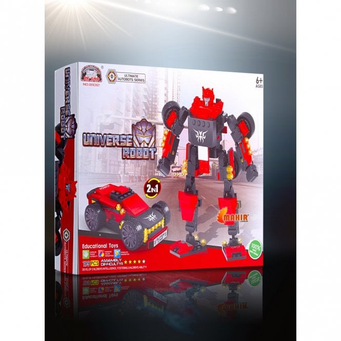 Kids Fun:: K24 Ultimate Autobot Series Building Block Toys