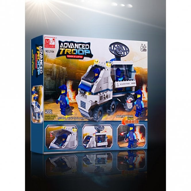 Kids Fun:: K26 Advanced Troop- Power of justice Series Building Block toys