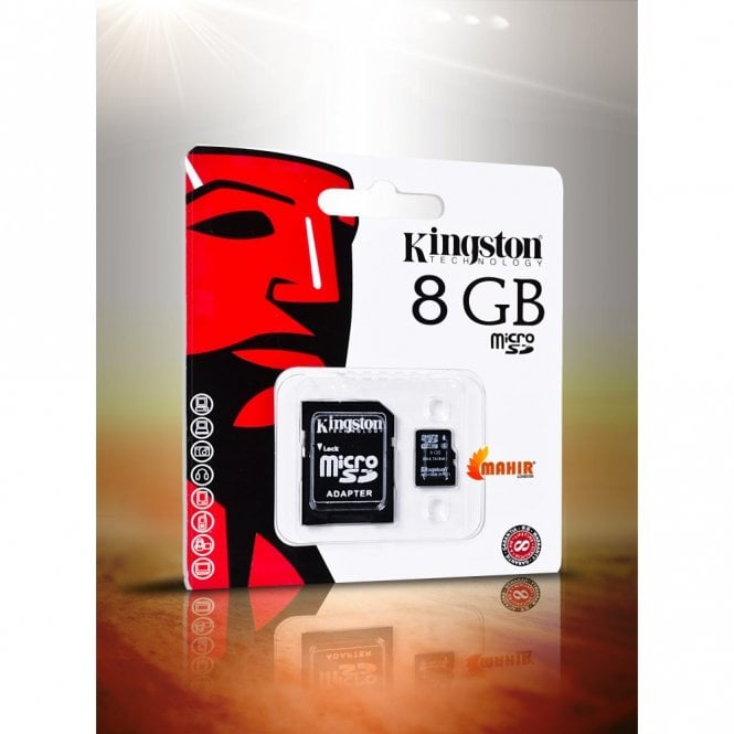 Kingston Micro SD 8GB/16GB/32GB SDHC MICROSDHC + ADAPTOR MEMORY CARD CLASS-4