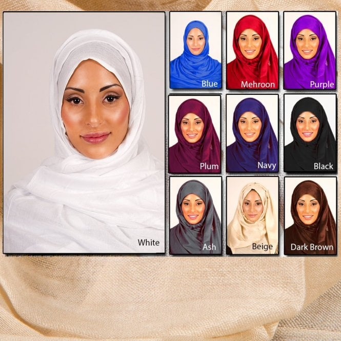 Jilbab/Abaya Scarf ML 6143  [size: 6ft 4in x 3ft 8in aprox.]