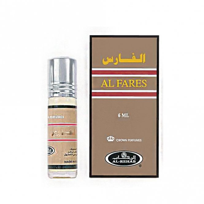 Attar: ML 011424 AL Fares 6ml (Halal) from Al Rehab