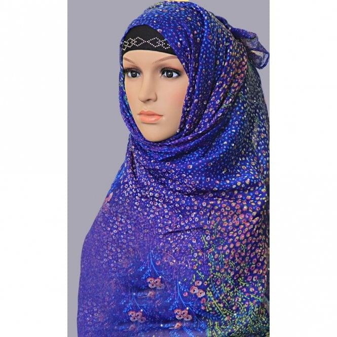 Jilbab/Hijab Scarf ML 6154 Large Size Scarf [ 72inch x 40inch ]