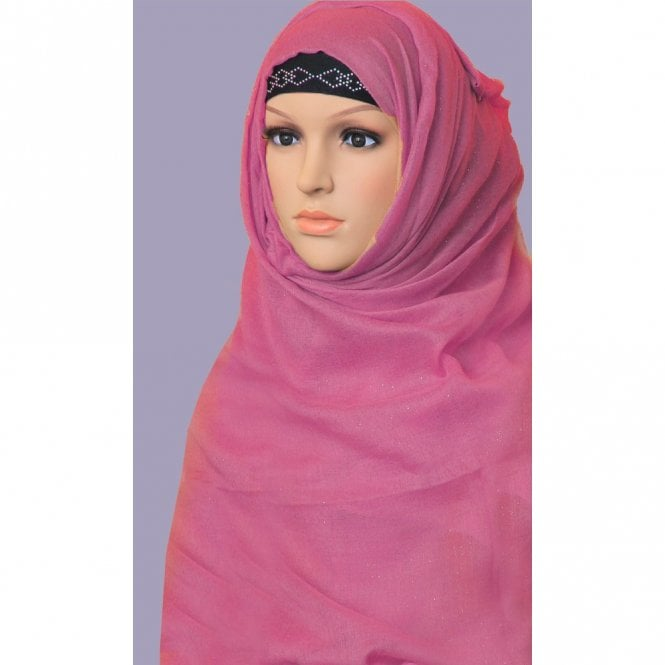 Jilbab/Hijab Scarf ML 6155 Large Size 8 Colour Scarf [ 6 feet x 3.5 feet ]