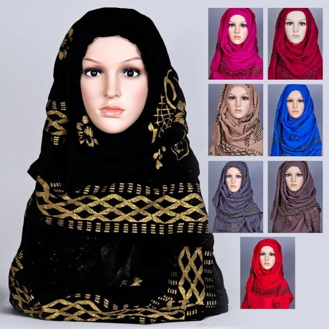 Jilbab/Hijab Scarf ML 6161