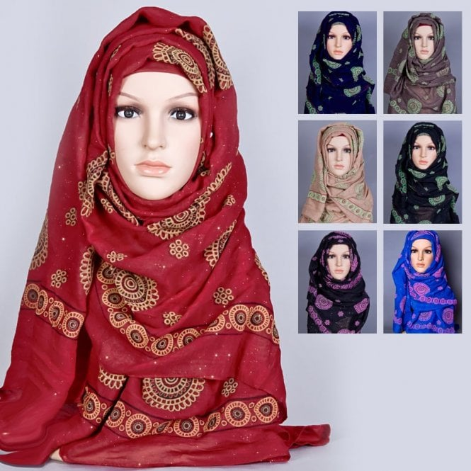 Jilbab/Hijab Scarf ML 6156